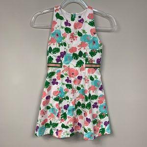Janie & Jack   Floral Bow Dress   Size 10
